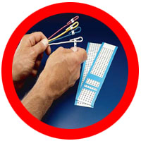 handi cards printed wire markers