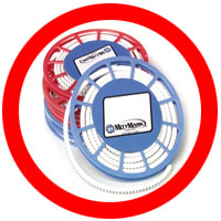 PVC MityMark Compact Disk Markers