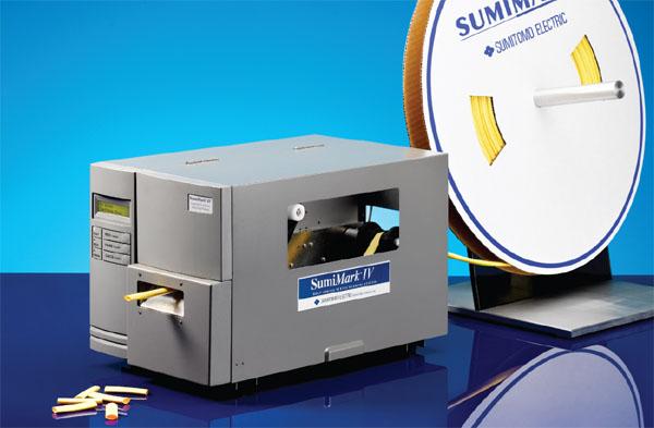 Sumimark Iv Thermal Transfer Heat Shrink Tubing Label