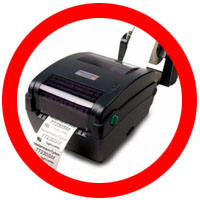 Tyton TT320SM Thermal Transfer Printer